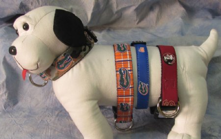COLLARS, LEASHES & MORE